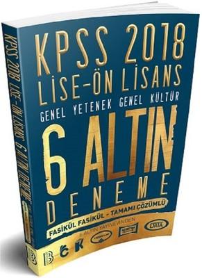 2018 KPSS Lise Ön Lisans 6 Altın Deneme