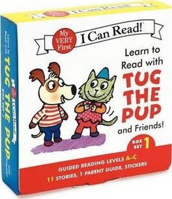 Learn to Read with Tug the Pup and Friends! Box Set 1: Levels Included: A-C (My Very First I Can Rea