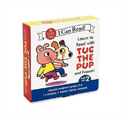 Learn to Read with Tug the Pup and Friends! Box Set 2: Levels Included: C-E (My Very First I Can Rea