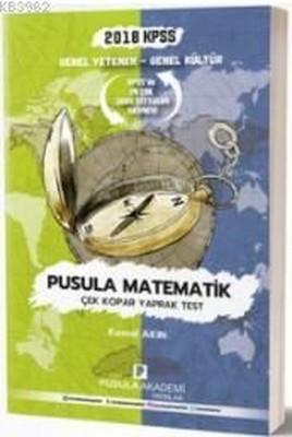 2018 KPSS GY-GK Pusula Matematik Çek Kopar Yaprak Test