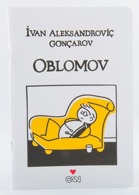 Can Dükkan Defter Oblomov 12x17,5