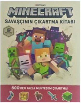 Minecraft Savaşçının Çıkartma Kitabı