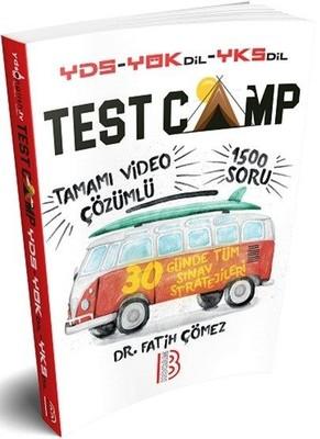 YDS YÖKDİL YKSDİL Test Camp Soru Kitabı