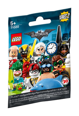 Lego Batman Movie Minifigures 2018 71020