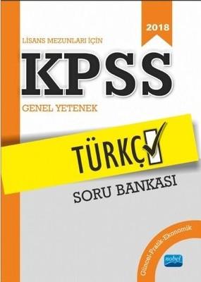 2018 Lisans Mezunları için KPSS Türkçe Soru Bankası