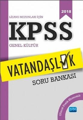 2018 Lisans Mezunları için KPSS Vatandaşlık Soru Bankası