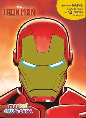 Marvel Iron Man Maskeli Oku ve Boya
