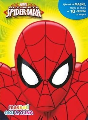 Marvel Spider-Man Maskeli Oku ve Boya