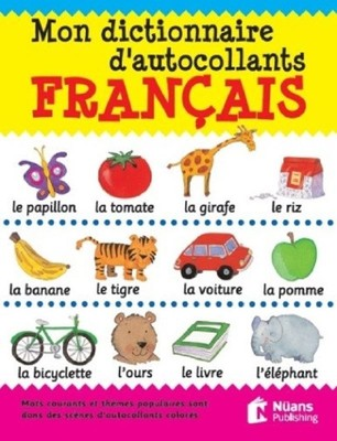 Mon Dictionnaire Dautocollants Français