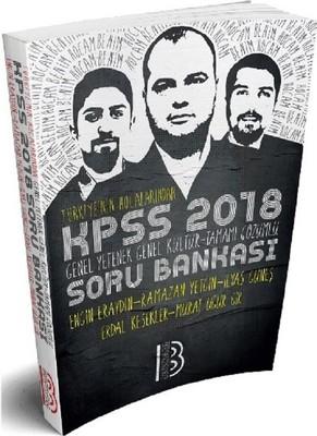 2018 KPSS Genel Yetenek-Genel Kültür Tüm Dersler Soru Bankası