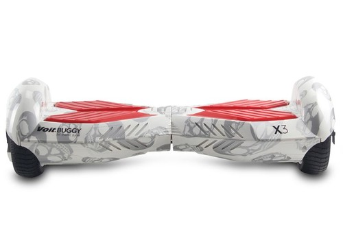 Voıt Buggy X3 Elektrıkli Scooter Beyaz Kuru Kafa