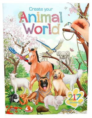 Top Model Animal World Boyama Kitabı 5353