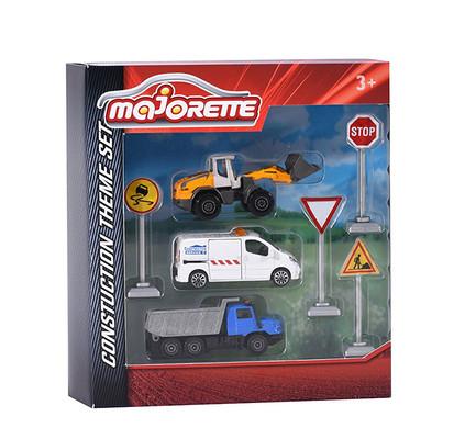 Majorette-İnşaat Seti 7.5cm.