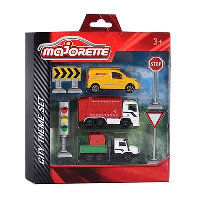 Majorette-Şehir Araçları Seti 7.5cm