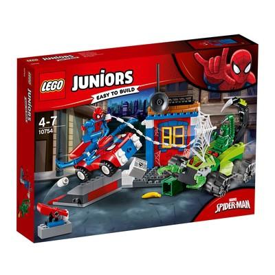 Lego Juniors Spiderman Vs Scorpion Street Showdow 10754