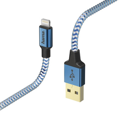 Hama iPhone Lightning USB Kablo Reflective 1.5m HM.178300