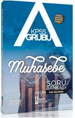 2018 KPSS A Grubu Muhasebe Tamamı Çözümlü Soru Bankası