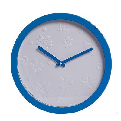 Xoom Duvar Saati Mavi Çerçeveli