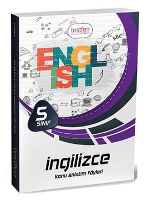 5.Sınıf İngilizce Konu Anlatım Föyleri
