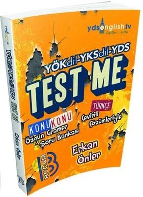 YÖKDİL-YKSDİL-YDS Test Me Soru Bankası