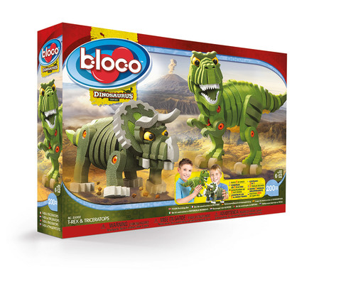 Bloco-T-Rex&Triceraptors