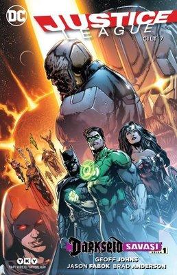 Justice League Cilt 7-Darkseid Savaşı Bölüm 1