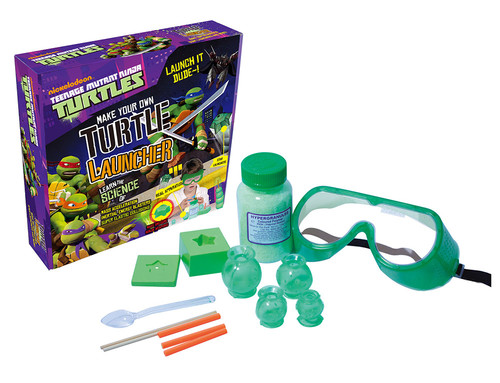 Wild Science-Egt.Set TMNT Roketleyicisi