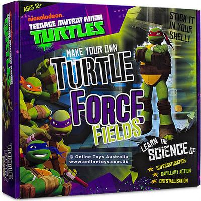 Wild Science Ninja Kaplumbağalar ile Eğlenceli Deneyler Seti