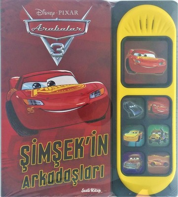 Disney Arabalar 3-Şimşek'in Arkadaşları-Sesli Kitap