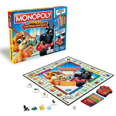 Hasbro Monopoly E1842 Junior Elektronik Bankacılık Kutu Oyunu