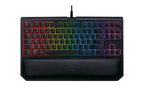 RAZER BLACKWIDOW TE CHROMA V2 GREEN SWITCH