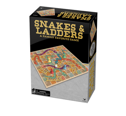 Cardinal Games - Snake and Ladders 8082