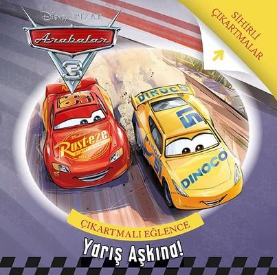 Disney Arabalar 3-Yarış Aşkına Çıkartmalı Eğlence