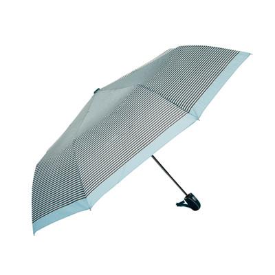Biggbrella Otomatik Şemsiye Kahverengi Çizgili