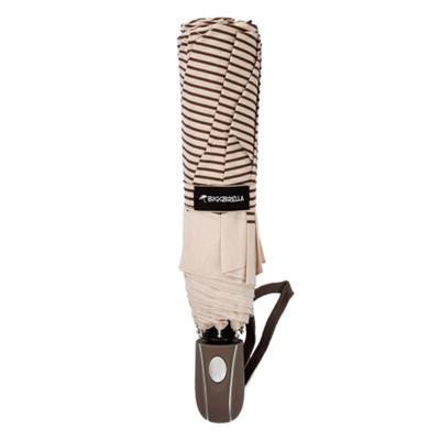 Biggbrella Kahverengi Çizgili Otomatik Şemsiye
