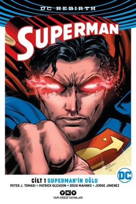 DC Rebirth-Superman Cilt 1-Superman