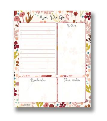fabooks Günlük Planlayıcı Yeni Bir Gün