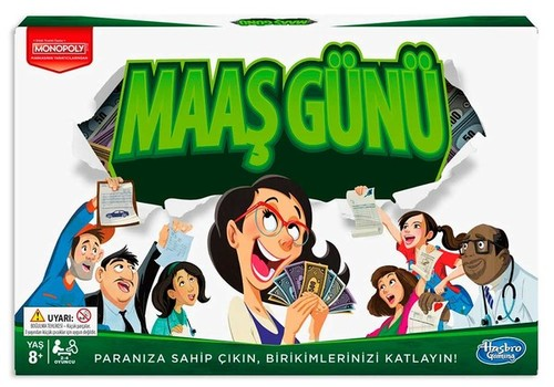 Hasbro Games-Monopoly Maaş Günü (0751)