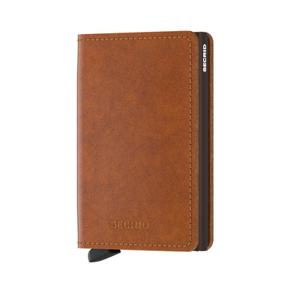 Secrid Slimwallet Orig.Cognac Brown