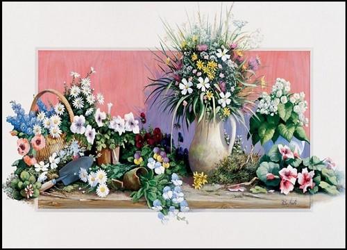 Art-Puz.500 Bahar Çiçekleri 4208