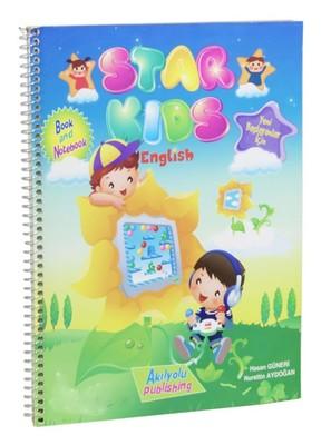 Star Kids-Yeni Başlayanlar İçin İngilizce Kitap ve Defter