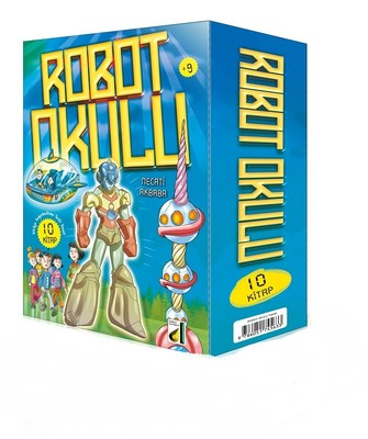 Robot Okulu-10 Kitap Takım