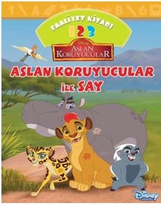 Disney Aslan Koruyucular ile Say Faaliyet Kitabı
