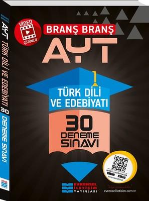 AYT Branş Branş Türk Dili ve Edebiyatı 30 Deneme Sınavı