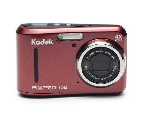 Kodak Pixpro FZ43 16MP, 4x Optik Zoom Dijital Fotoğraf Makinesi Kırmızı