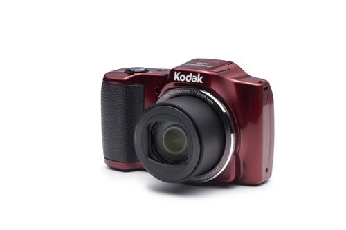 Kodak Pixpro FZ201 16MP, 20x Optik Zoom Dijital Fotoğraf Makinesi Kırmızı