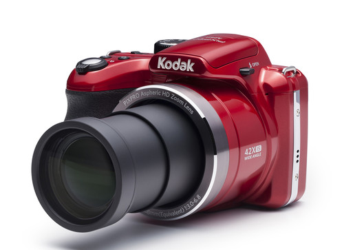 Kodak Pixpro AZ421 16MP, 42x Optik Zoom Dijital Fotoğraf Makinesi Kırmızı