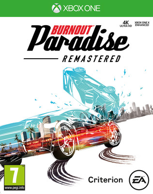XBOX ONE BURNOUT PARADISE REMASTERED