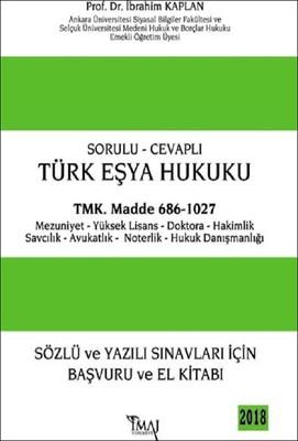 Sorulu Cevaplı-Türk Eşya Hukuku