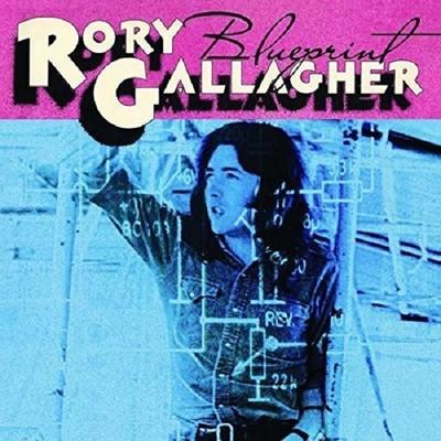 Rory Gallagher Blueprint Plak